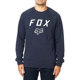 Fox Legacy Crew Neck Fleece Trui Heren, midnight